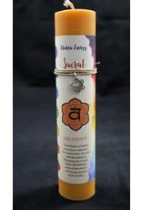 Chakra Pillars Candle - Sacral