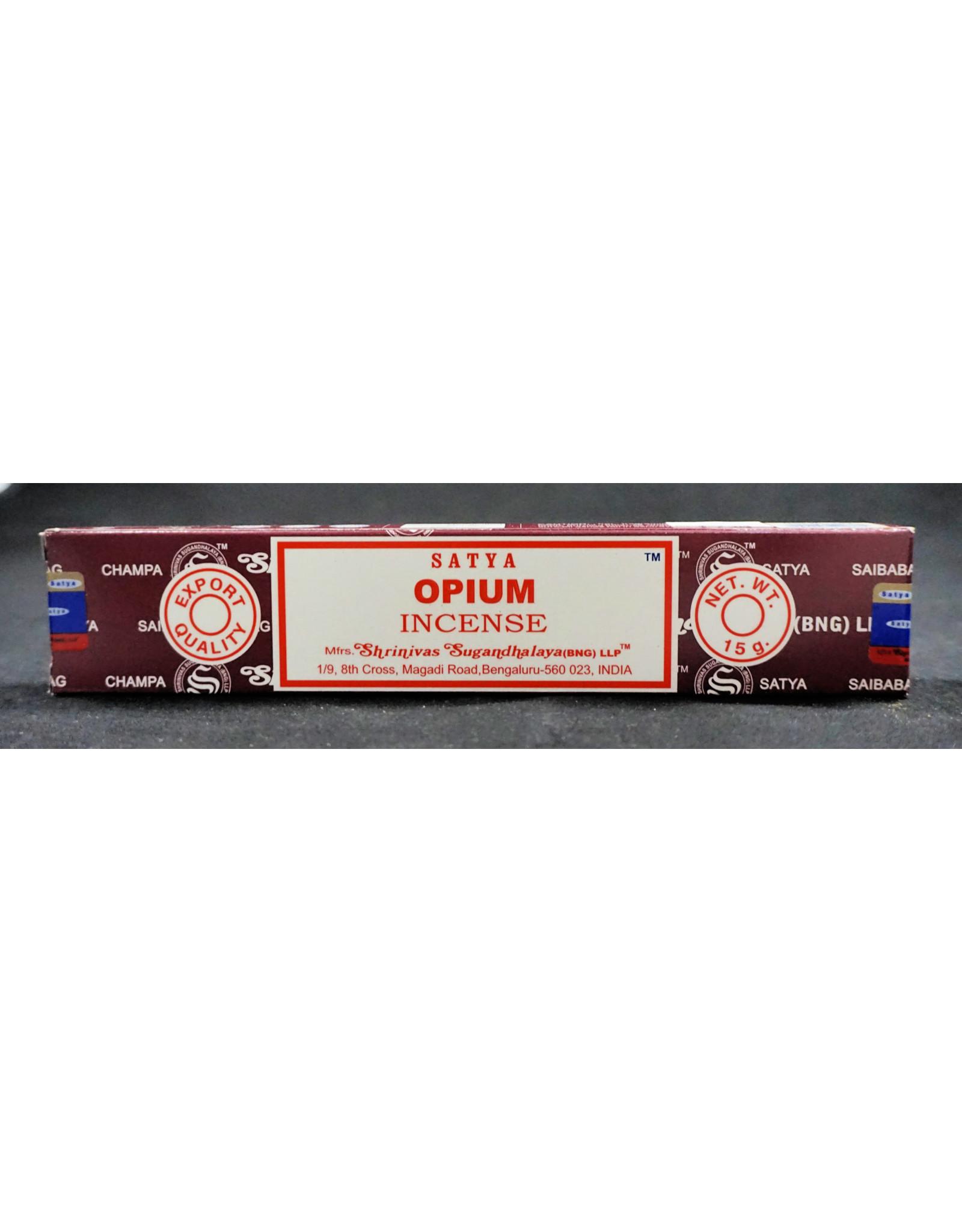 Satya Satya Incense 15g Opium
