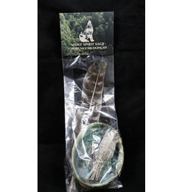 White Sage Smudge Kit 3""