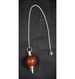 Red Jasper Ball Pendulum