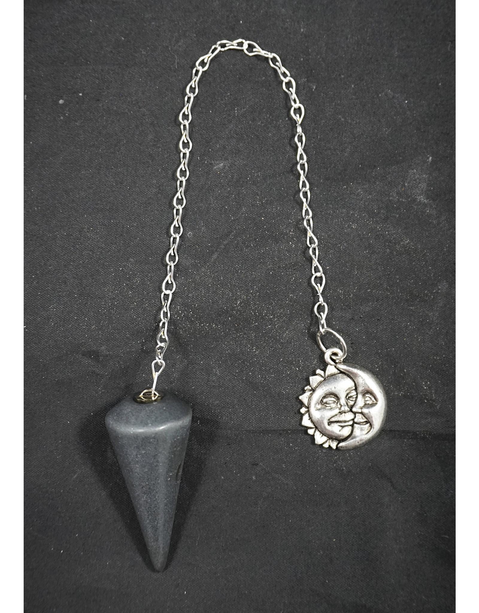 Hematite Sun Moon Pendulum