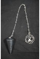 Hematite Tree of Life Pendulum