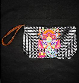 Multi Elephant Cosmetic Bag