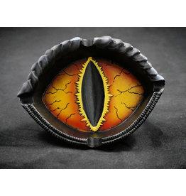 Dragon Eye Polyresin Ashtray