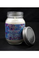Special Blue Odor Eliminator Candle - Garden Erotica