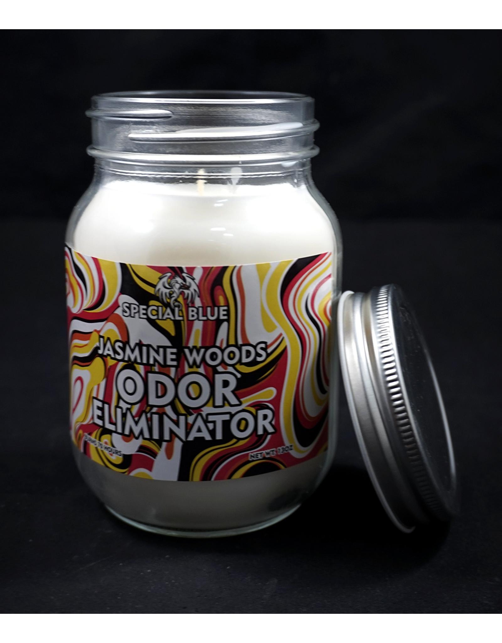 Special Blue Odor Eliminator Candle - Jasmine Woods
