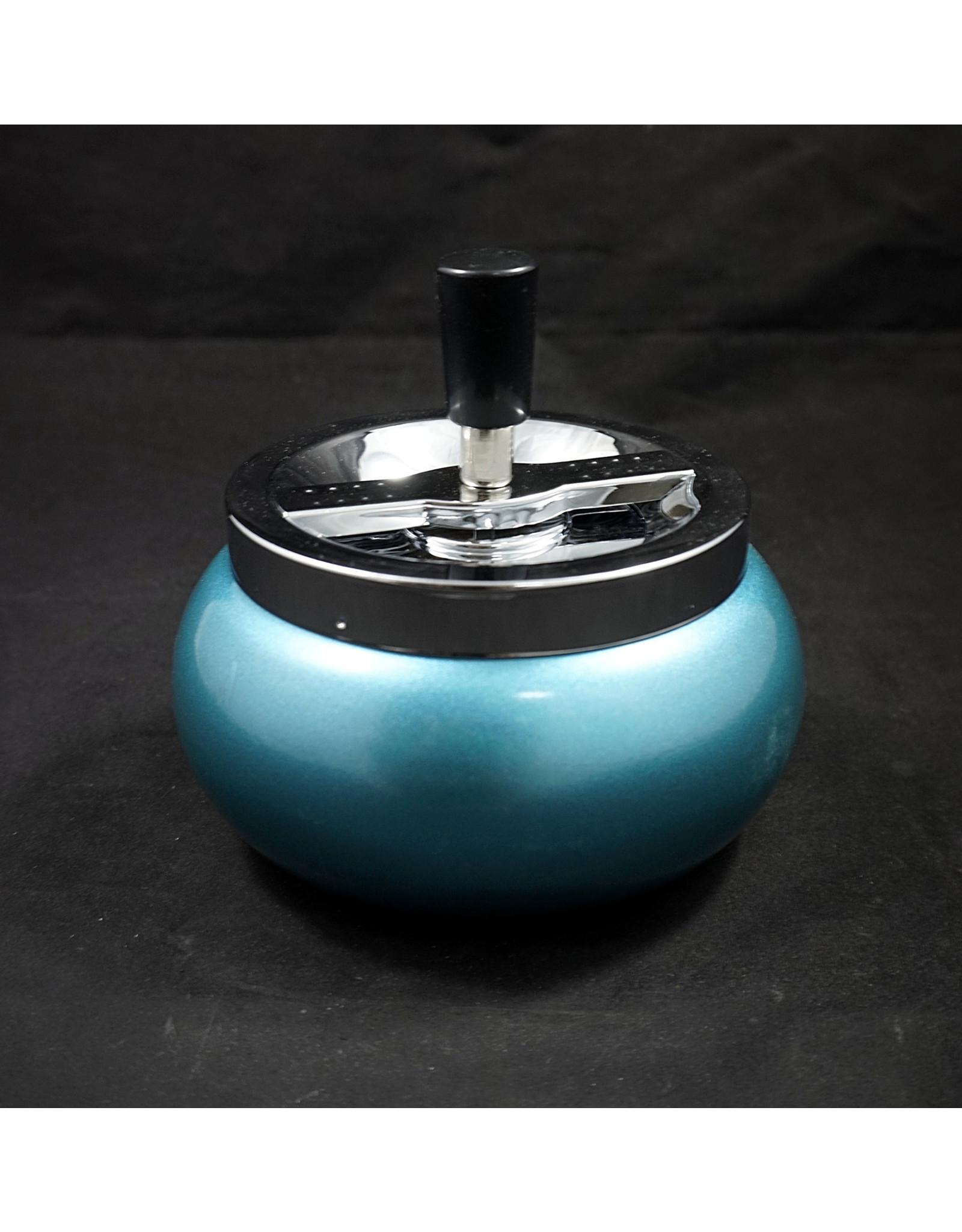 Large Spinning Ashtray - Blue