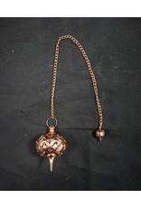 Copper Filigree Pendulum