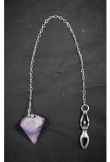 Amethyst Pendulum Godess Love