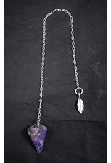 Amethyst Pendulum Feather