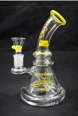 Cheech & Chong's Up In Smoke Waterpipe - Strawberry Yellow