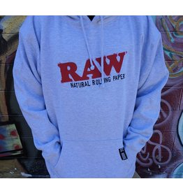 Raw Raw OG Hoodie - Heather Gray XXLarge
