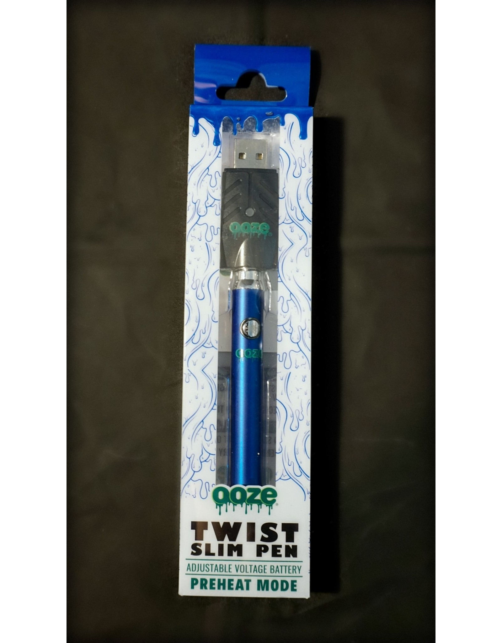 Ooze Ooze Twist Battery with USB Charger Blue