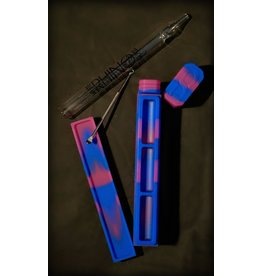 Dab Out Silicone Dab Kit Blue/Purple