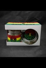 Rasta Ashtray and Stash Jar Set - Roast & Toast