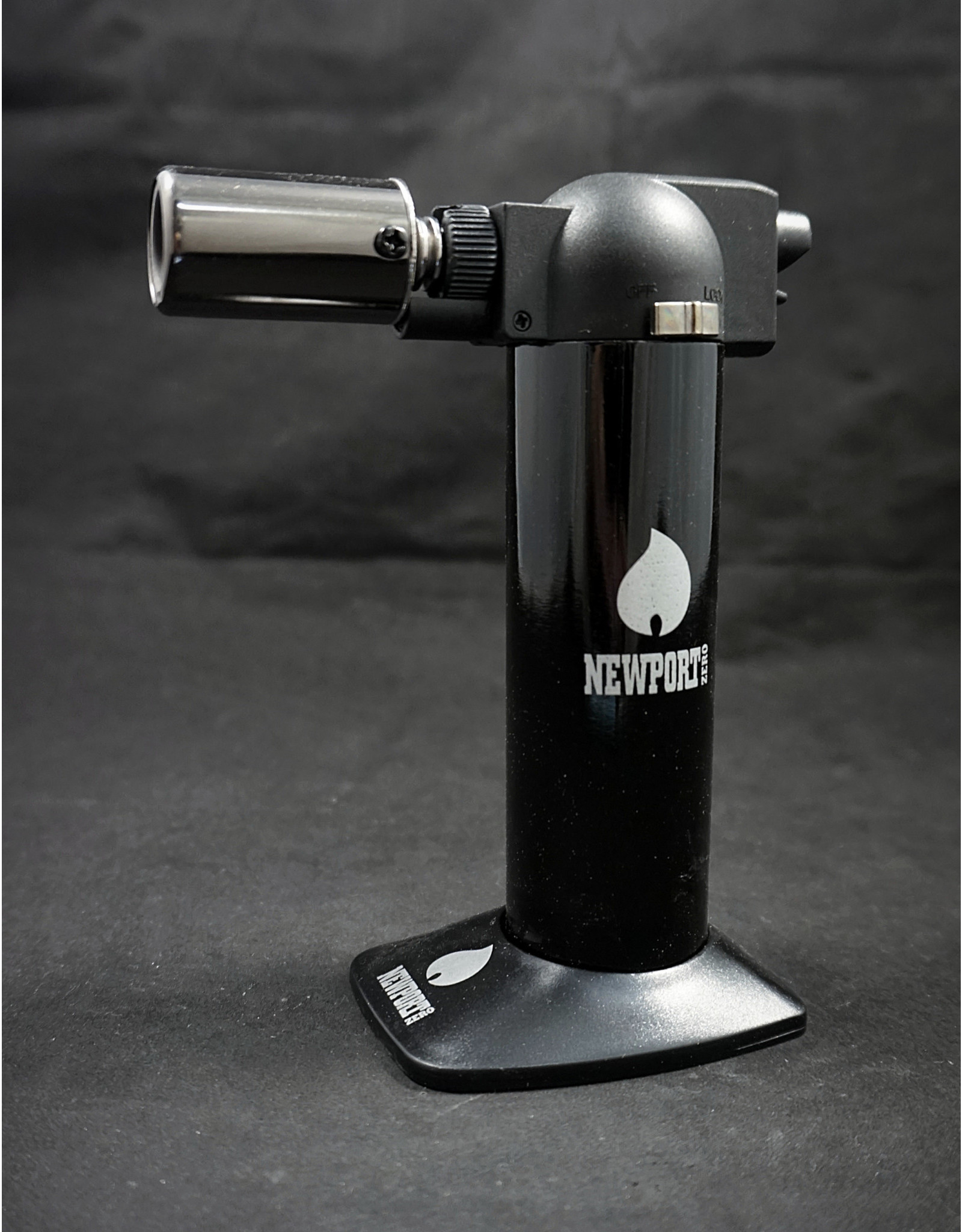 "Newport 6"" Torch - Mirror Black"