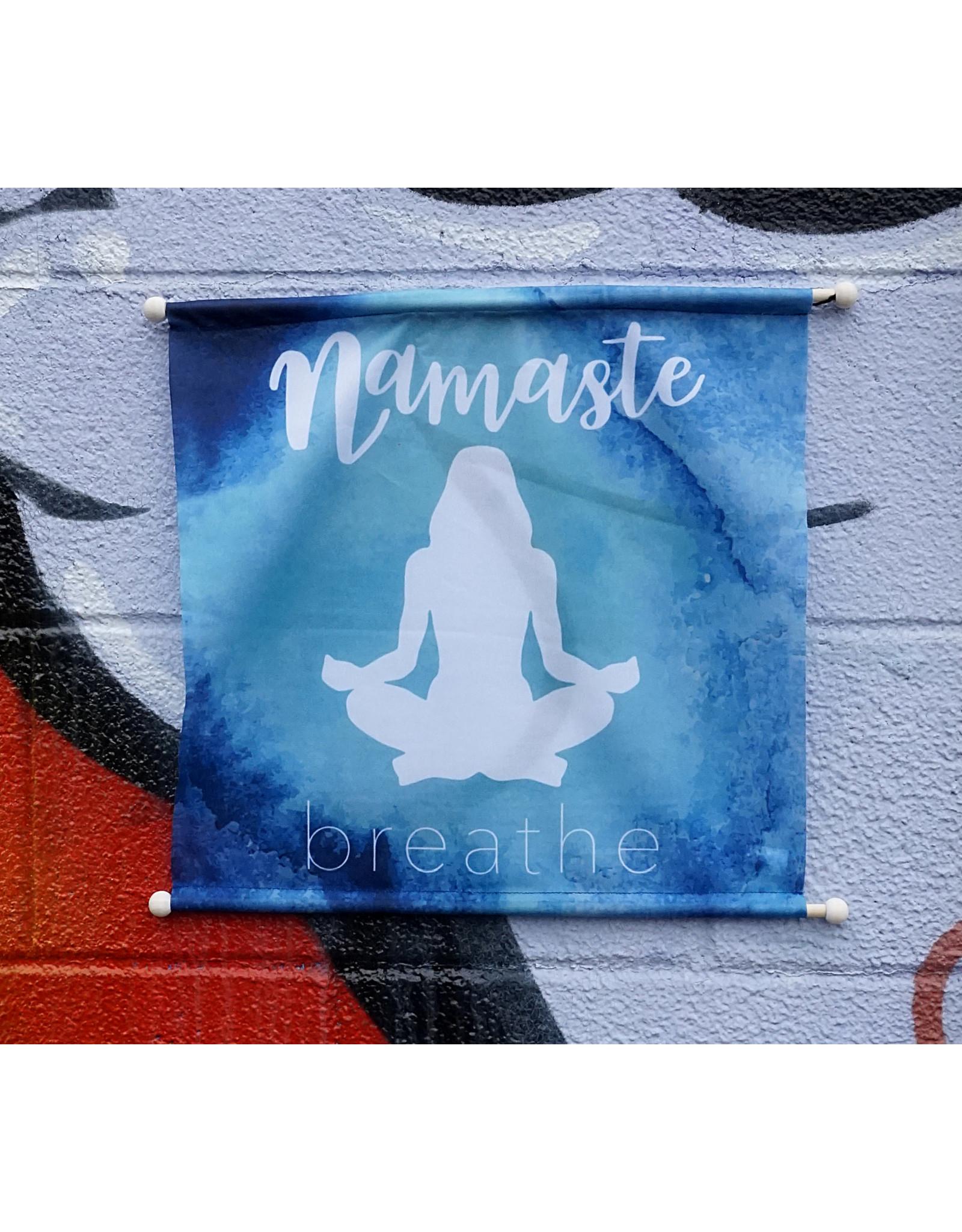 Namaste Breathe Banner
