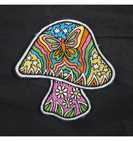 Butterfly Mushroom Patch by Dan Morris