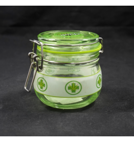 Medical Leaf Glass Jar - Small