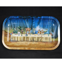 Alice Down The Rabbit Hole Medium Rolling Tray