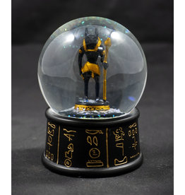 Egyptian Statue - Anubis Water Globe