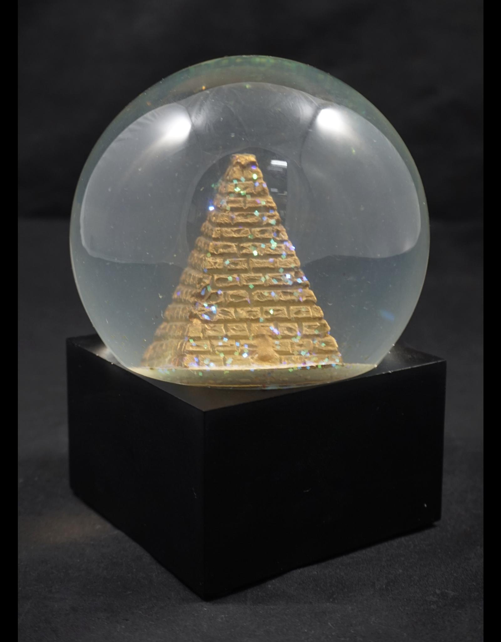 Egyptian Statue - LED Pyramid Water Globe