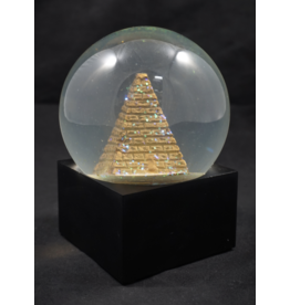 Egyptian Statue - LED Pyramid Water Globe