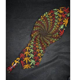 Doo Rag 3D Rasta Leaf Spiral