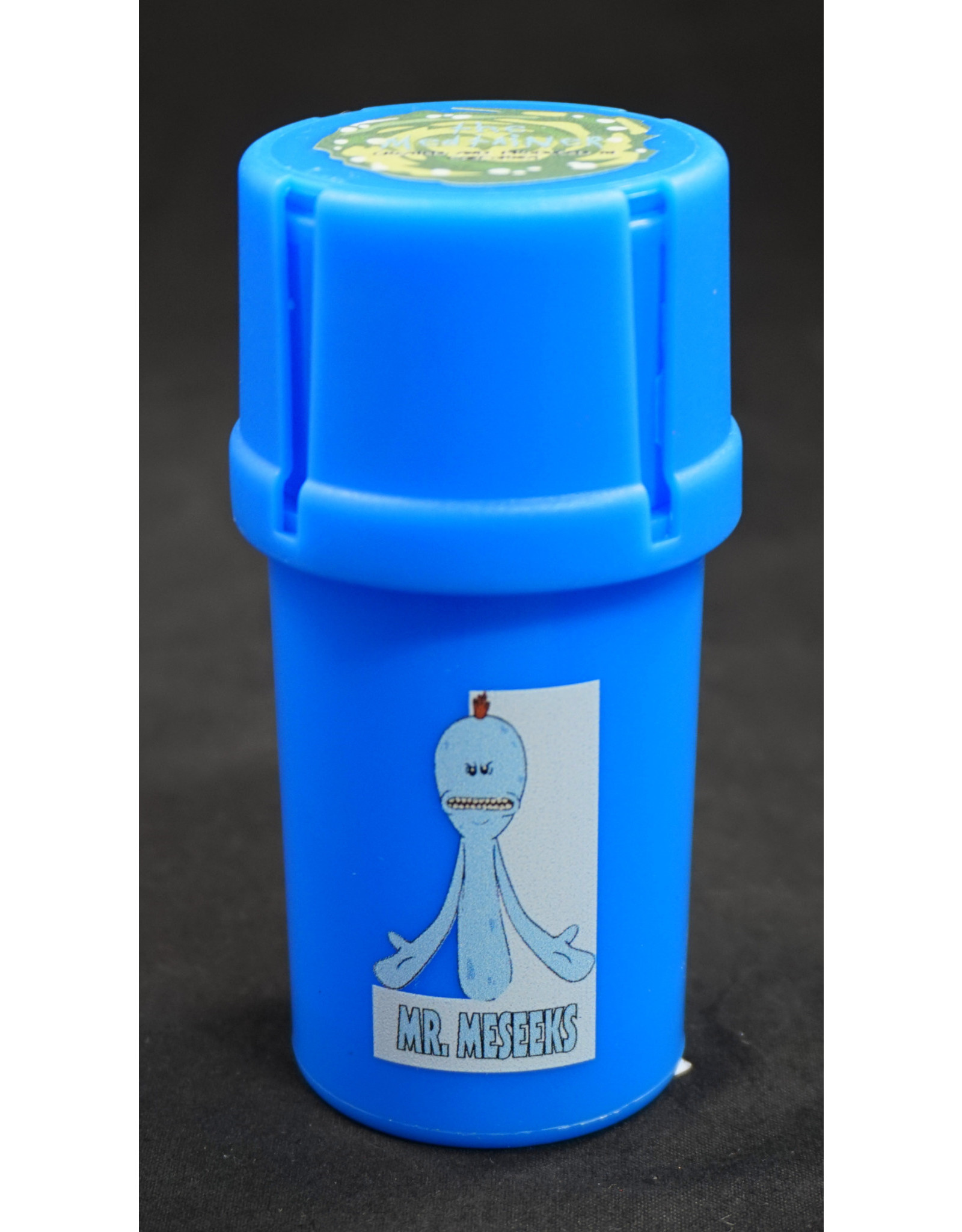 Medtainer Rick and Morty -  Blue with Mr.Meseeks