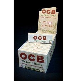 OCB OCB Organic Hemp Papers 1.25 w/ Tips