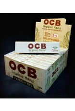 OCB OCB Organic Hemp Papers KS Slim w/ Tips