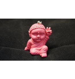 Pocket Buddha Keychain -  Peace