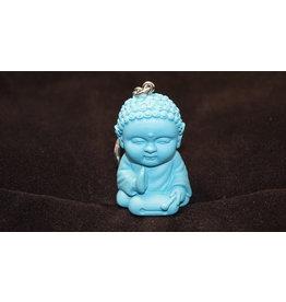 Pocket Buddha Keychain -  Harmony