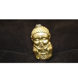 Pocket Buddha Keychain -  Happiness
