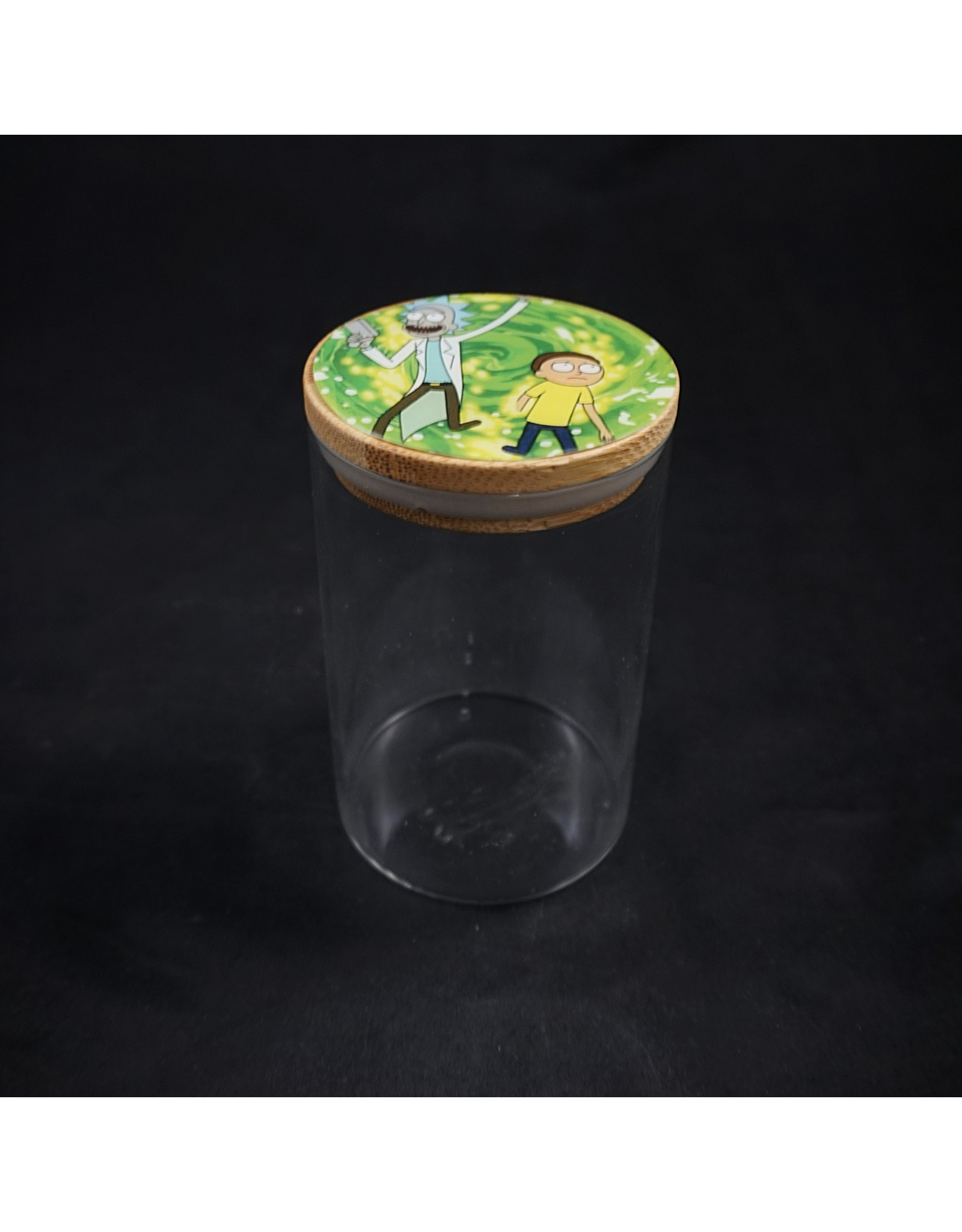 Rick and Morty Glass Jars Medium -  Portal