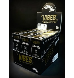 Vibes Papers Vibes Cones Ultra Thin 1.25 6pk