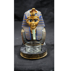 Egyptian Statue - King Tut Candle Holder