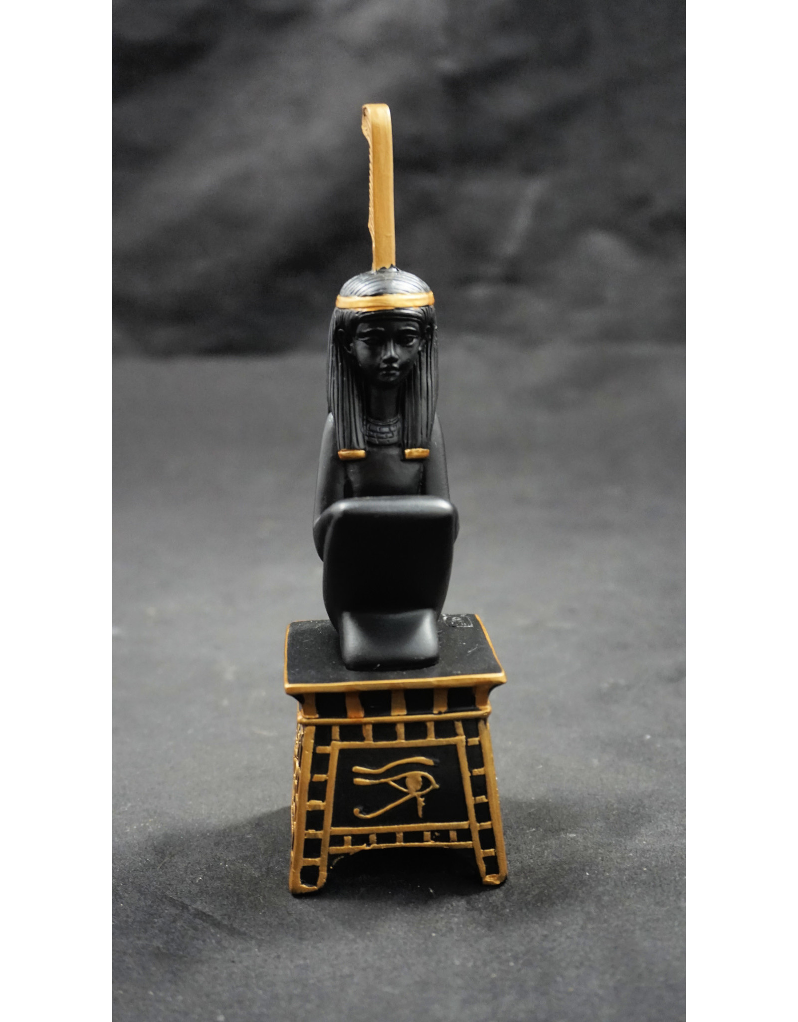Egyptian Statue - Maat on Pedestal