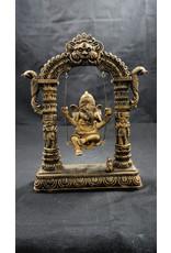 Ganesha On Swing Statue