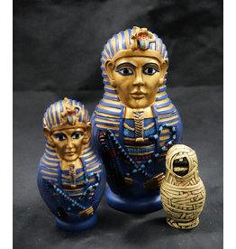 Egyptian Statue - King Tut Nesting Dolls