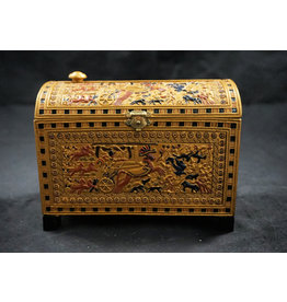 Egyptian Painted Trinket Box