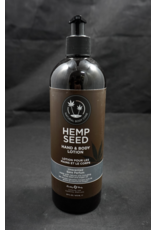 Earthly Hemp Seed Body Lotion 16oz Unscented