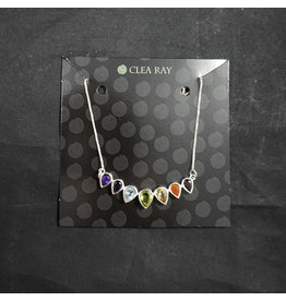 Silver 7 Chakra Necklace