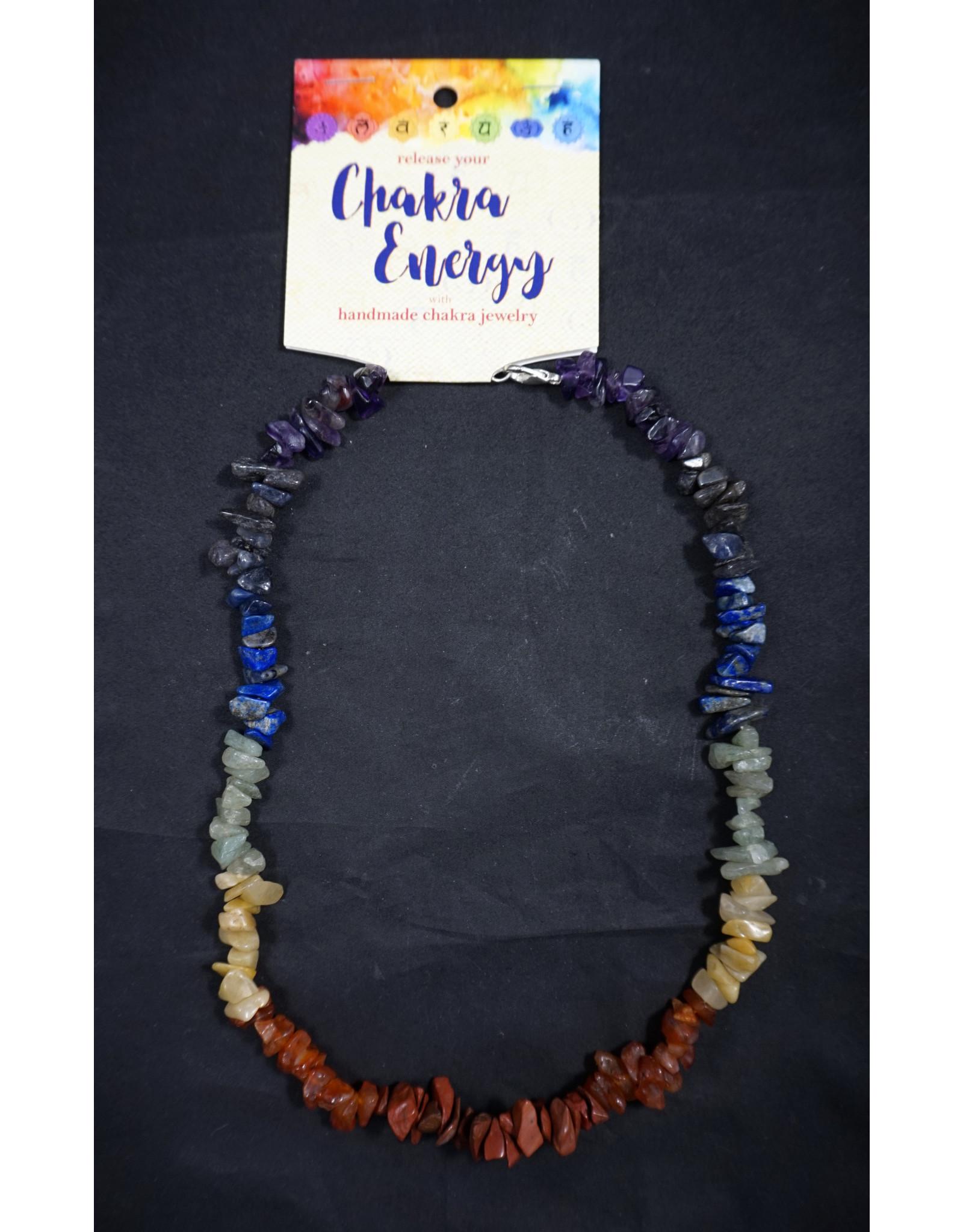 Chakra Chip Balancing Necklace