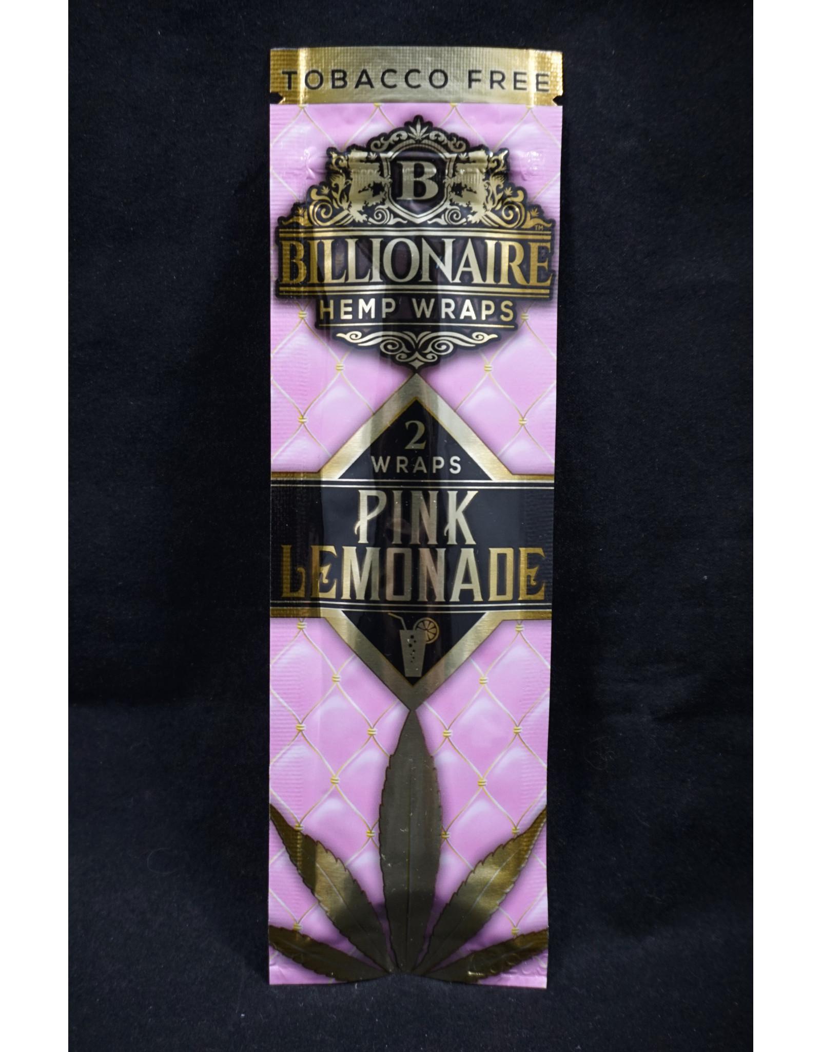 Billionaire Hemp Wraps - Pink Lemonade