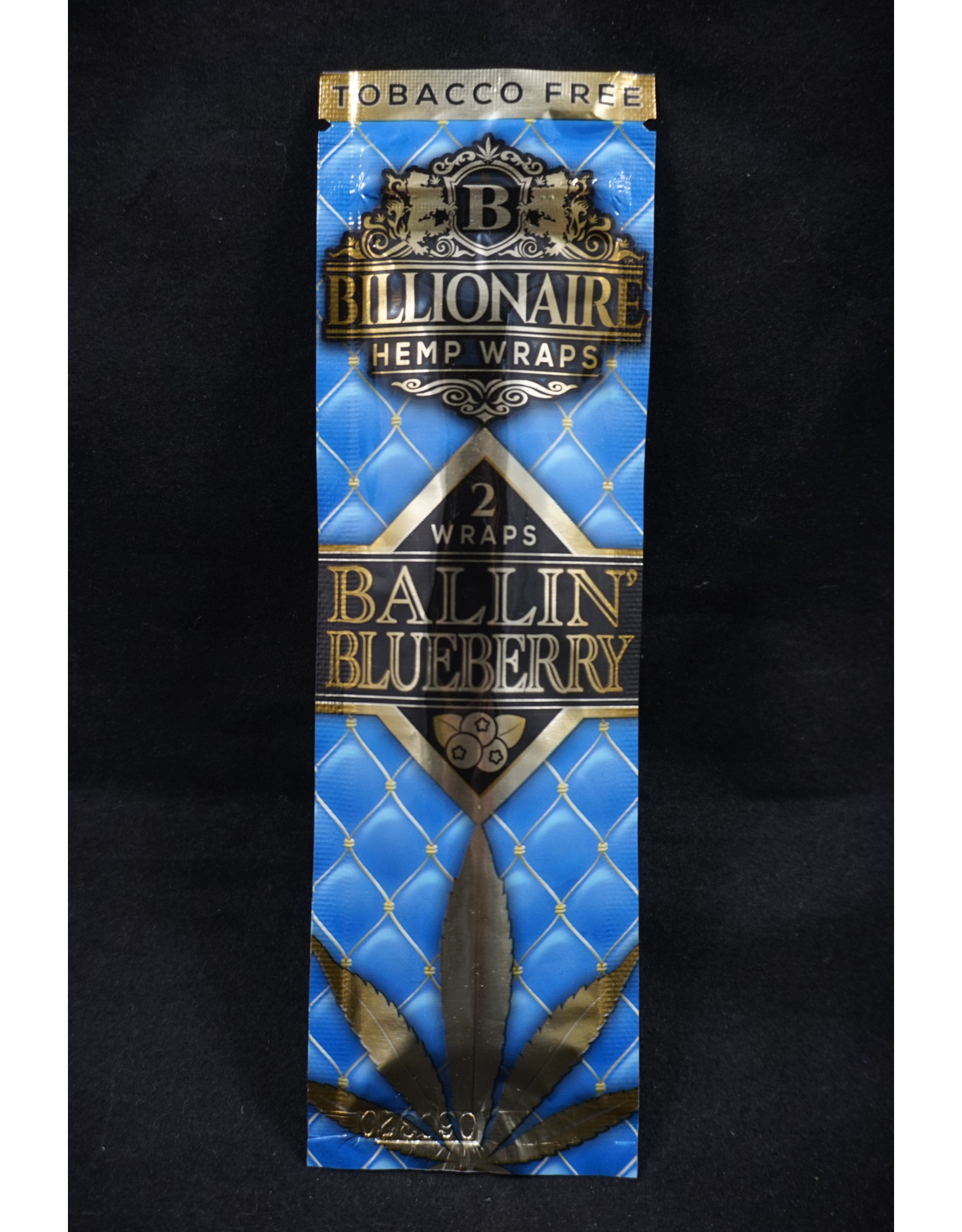 Billionaire Hemp Wraps - Blueberry