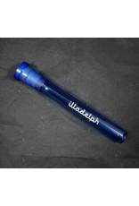 Illadelph Illadelph Mini OG Downstem – Blue with White Label