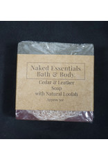 Naked Essentials Naked Essentials - Cedar and Leather Loofah