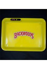 Backwoods LED Glow Medium Rolling Tray - Yellow