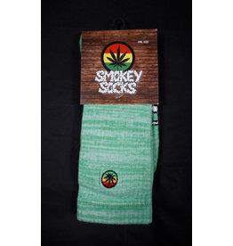 Smokey Socks - Clean Heather Green